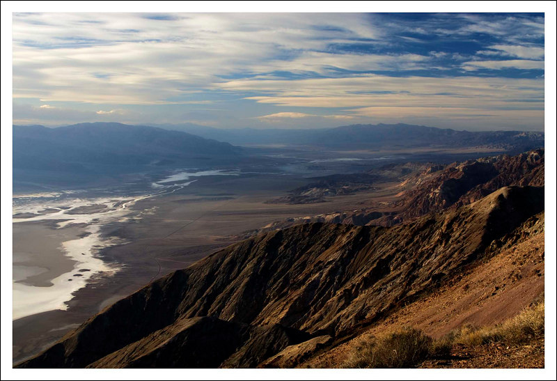 Taken from Dante's View looking northwest up Death Valley.