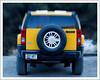 Matt's eco vehicle. Lens Baby shot.