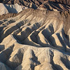 Erosion patterns at Zabriskie Point
