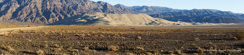 Eureka Dunes and the Last Chance Range