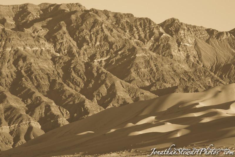 Eureka Dunes and the Last Chance Range behind
