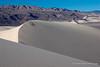 Dune ridge and Saline Mountains.