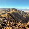 View of Dante's Ridge, south