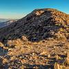 Hiking along Dante's Ridge
