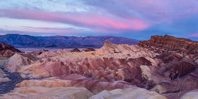 Zabriskie Point at Sunrise