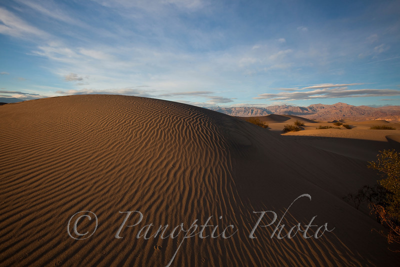 Dune Mound, Sand Dunes, Death Valley National Park, California