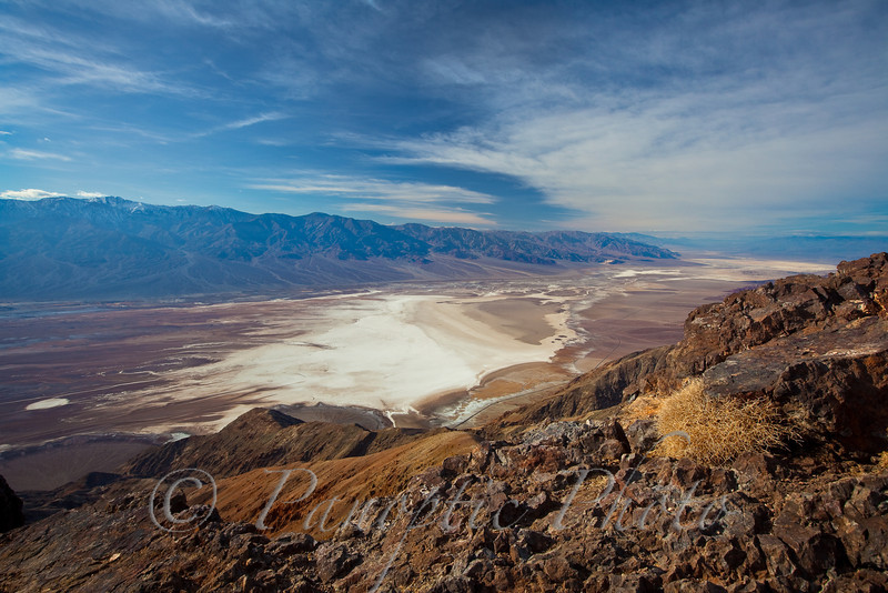 Expansive Badwater Basin from Dantes View, Death Valley National Park, California