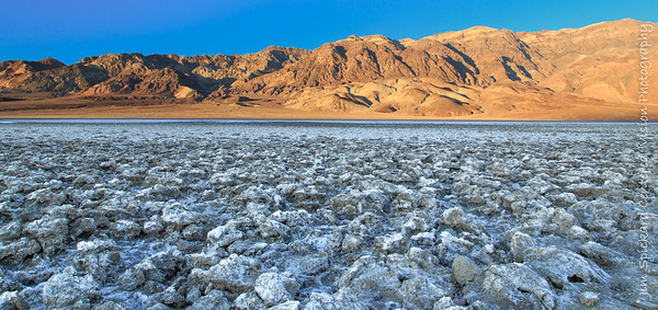 Salt Field at Sunset