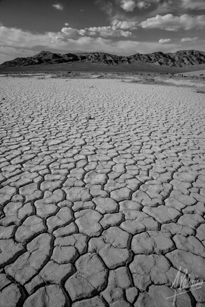 Playa near Eureka Dunes, Death Valley National Park