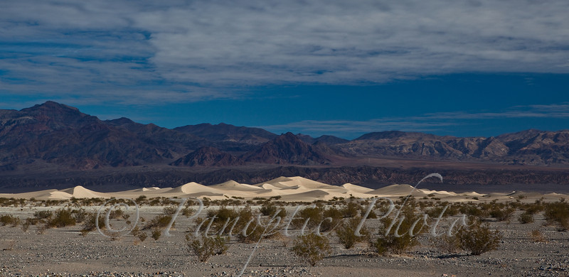Distant Sand Dunes, Death Valley National Park, California