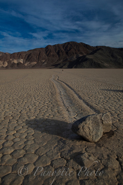 Arched Racer, The Racetrack, Death Valley National Park, California
