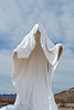 "Szukashi Sculpture from the ""Last Supper"", Rhyolite Ghost Town, Rhyolite, Nevada"