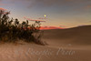 Sunset with Full moon, Sand Dunes, Death Valley National Park