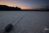 Last light at the racetrack, Death Valley National Park