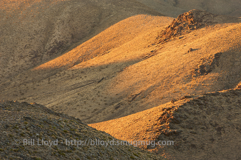 Hillside abstracts from Aguerreberry Point, Death Valley National Park.
