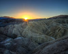 Death Valley Sunrise Zabriskie Point