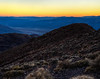 Death Valley Dantes View Sunset