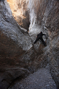 Navigating the Mouth of Grotto Canyon