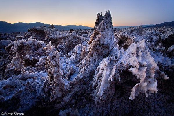 The Salt Caves Death Valley National Park Salt Flats