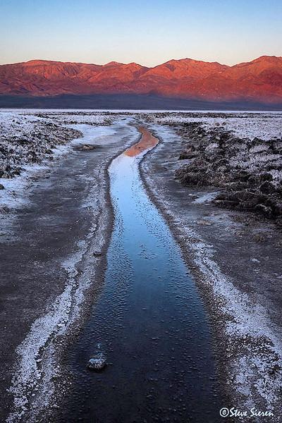 Salty Creek Death Valley National Park