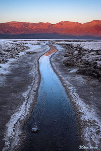 Salty Creek Death Valley National Park