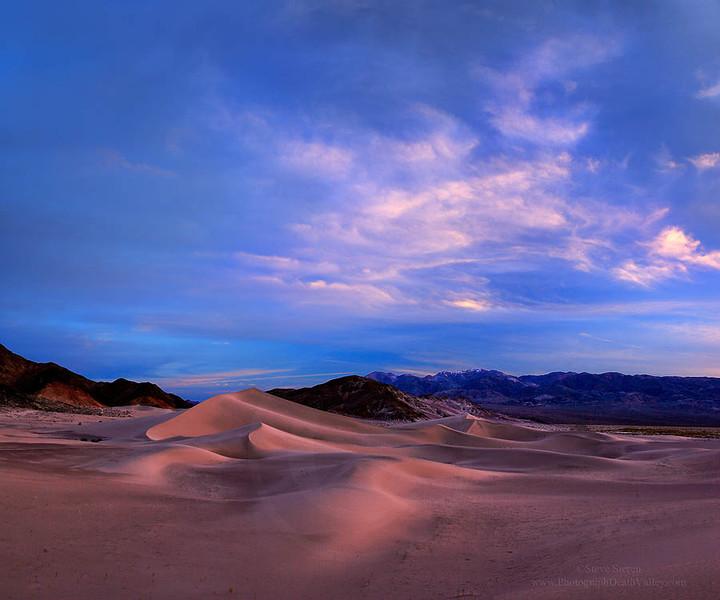 Death valley Dunes Sunset 03052010