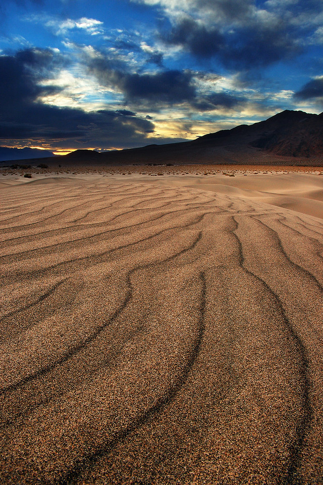 Desert Railroad Death Valley National Park, California
