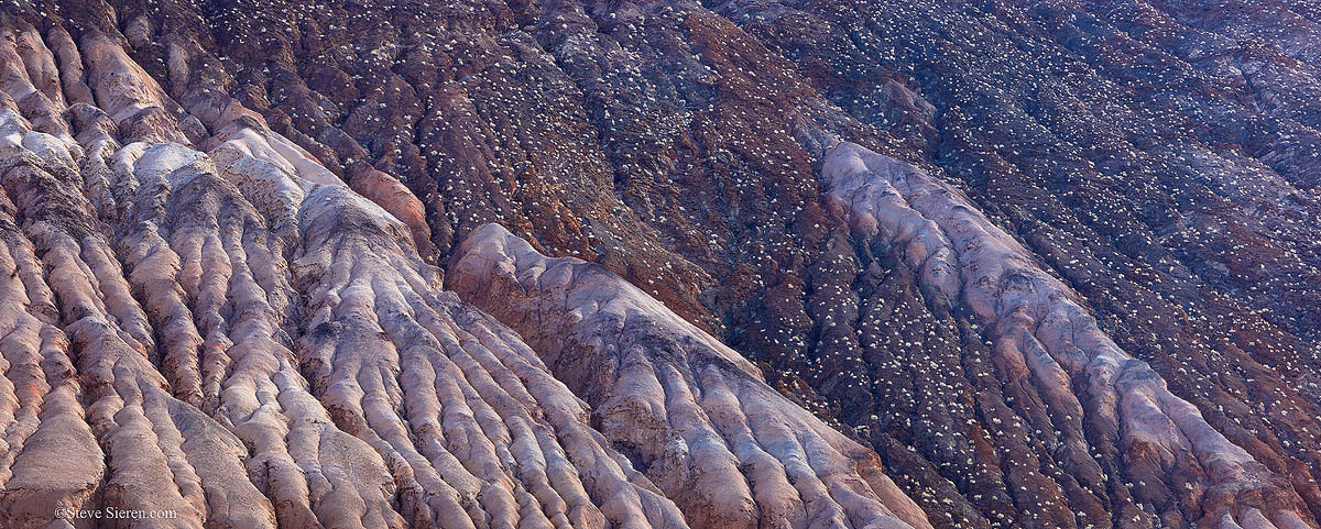 Wall detail in Death Valley