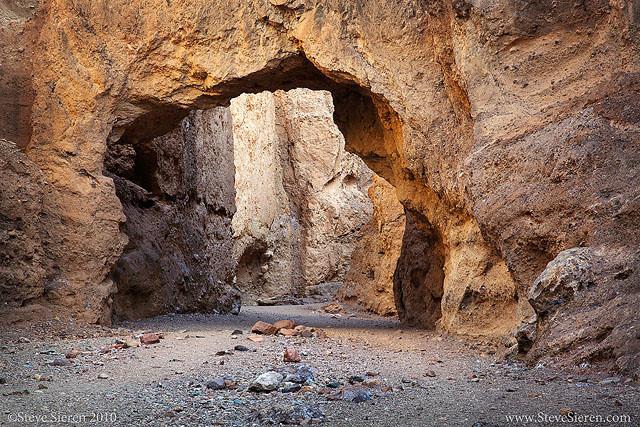 Natural Bridge - Death Valley  DEATH VALLEY GALLERY #2 - Find even more Death Valley photos
