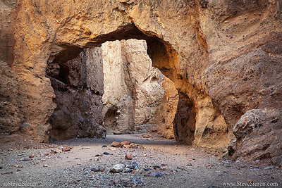Natural Bridge - Death Valley  DEATH VALLEY GALLERY #2 - Find even more Death Valley photos