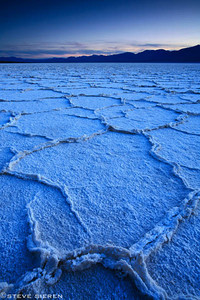 Never Ending Death Valley NP, California The hottest recorded temperature in the Northern hemisphere occurred here near Badwater at 134 degrees F in 1913, ironically the same year the most rainfall occurred (4.54 inches).
