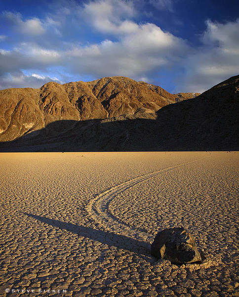 The Race Track - Death Valley