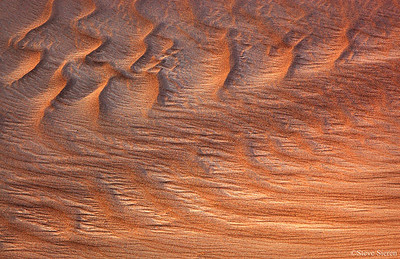 The Sand Box Death Valley, Mesquite Dunes Abstract