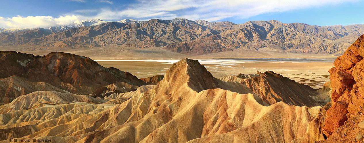 Zabriskie Pt. - Death Valley - photostich with a borrowed lens from Hutch(DigitalDaydreaming.com)