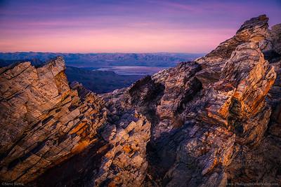 Aguereberry Point Death Valley Unique