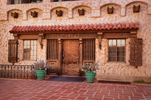 Scotty's Castle in Death Valley