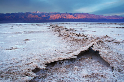 """-282 to 11,043""  Salt Flats Death Valley National Park California"