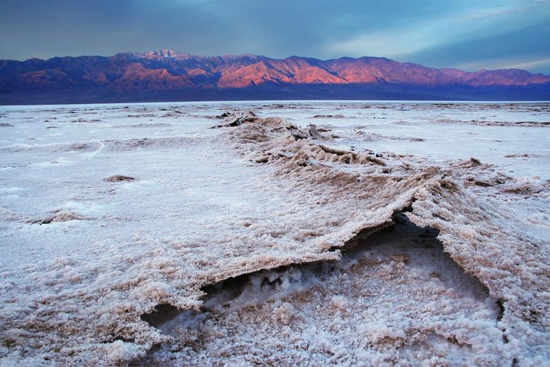 """-282 to 11,043""  Salt Flats Death Valley National Park California"