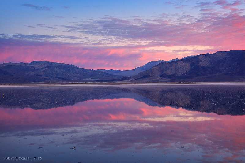 Western Death Valley filled with water 2012