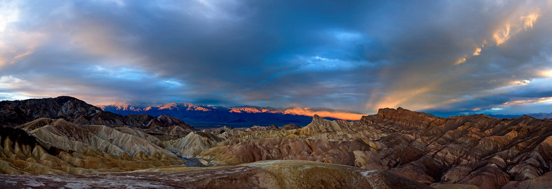Zabriskie Point - Death Valley National Park, California