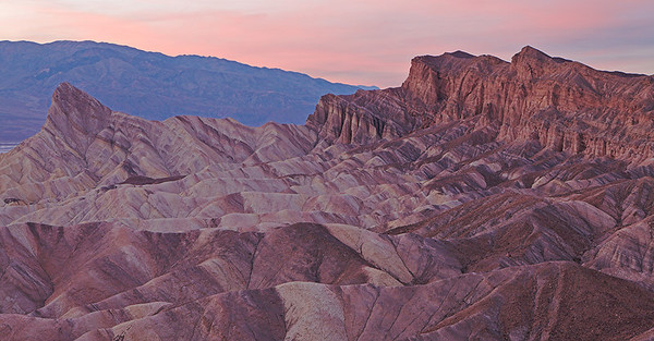 Manly Beacon, Zabriskie Point, Death Valley National Park