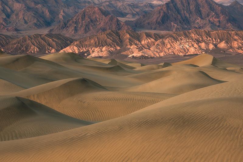 Mesquite dunes, DV