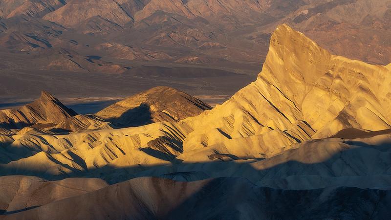 Zabriskie pt, Death Valley