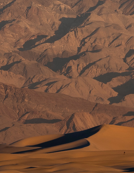 Sand Dunes at Mesquite Flats