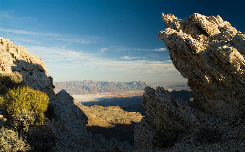 Aguereberry Point (looking southeast across Death Valley)