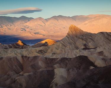 Zabriskie Point, Death Valley NP, CA.