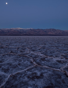 Full Moon Over Badwater Basin