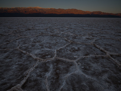 Sunrise over Badwater Basin