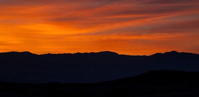 Sunrise, Mesquite Dunes