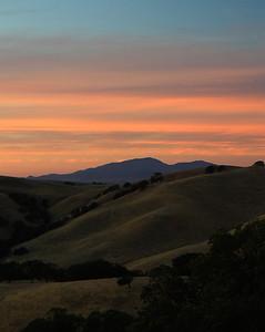 Del Valle last light Oct 7th, 2013